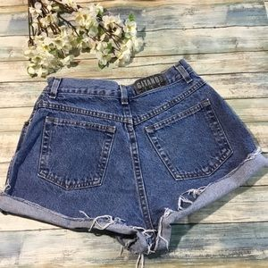 Vintage Gitano high waisted cut off mom shorts